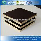 poplar/poplar combi/hardwood core water-resistant film faced plywood for construction