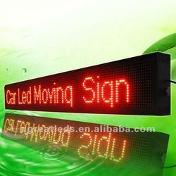 16x128 dots P10 Message Led Car Display