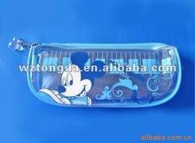 hight quality school pvc pen bag(European standard and direct factory)