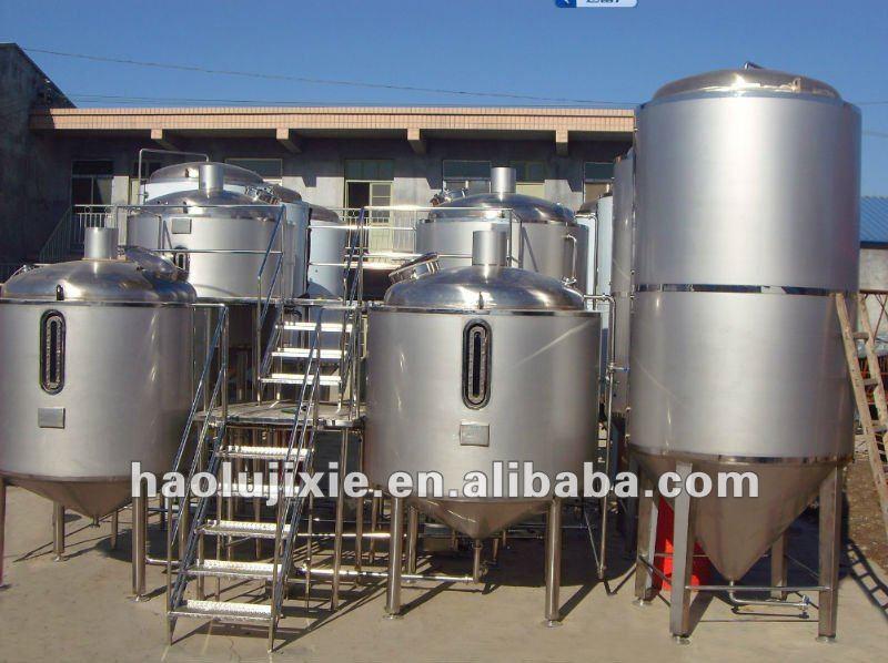 Gran jarra de cerveza de equipo para la elaboración de la cerveza planta, Brewhouse equipo