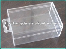 high quality durable pp hard plastic packaging box(WZ5486)
