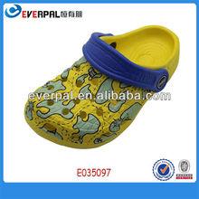 Tamancos injeção EVA sandália criança