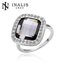 2013 Fashion Imitation Diamond Ring 18k Golden Jewelry LKN18KRGPR073