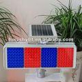 2014 el último LED Moudle Flash advertencia Solar Traffic Light