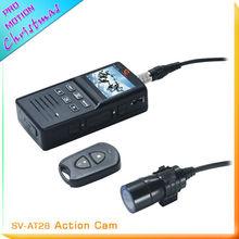 Mini waterproof 1080p hd sports camera with remote controller