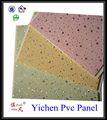 2013 novo design de plástico pvc painéis de teto, painéis de parede para decoração de interiores