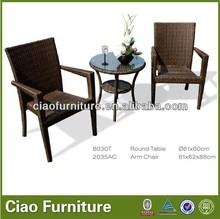 Designer victoria veranda rattan coffee table and chair