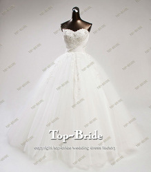 S613 Real Romantic Princess Wedding Dresses Made In China