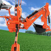 CE certificate 3 point towable backhoe for tractor