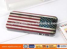 Custom flag logo phone case for iphone 5