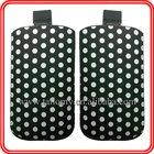 PU Mobile Phone Case for Samsung s3 i9300 with Polka Dot pattern ,Custom Design & logo
