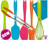 8 Pieces High Quality Silicone Kitchenware Utensils Set/Silicone Tools Set For Promotion
