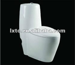 Ceramic Siphonic flush one piece toilet