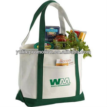 wholesale custom printed cotton canvas tote bag