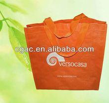 2013 new eco yellow non woven tote bag