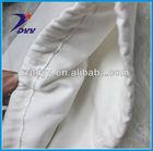 Green material organic cotton drawstring shoe bags