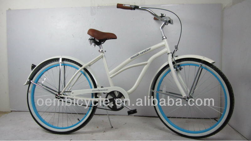 26 INCH HOT SALE FASHION SINGLE SPEED CHEAP MAN beach cruiser chopper