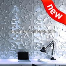 3d design plant fiber wall paper