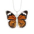Único hermoso de la mariposa verdadera collar