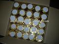 de oro de papel envoltura térmica pos caja registradora de rollos de papel
