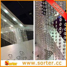 Hot Sale Modern Fashion Decoration Shining Crystal Bead Curtain