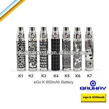 best mini e-cigarette1100mah Ego K battery