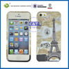 C&T Eiffel Tower pattern soft tpu case for iphone 5s