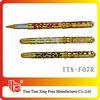 Senior golden metal gel ink pen for business gifts