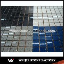Glow in the dark tiles, startlight blue mosaic tiles tiles