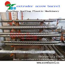 Hard chrome plating single screw cylinder barrel for PVC EVA PE TPO Waterproof sheet Extrusion Line