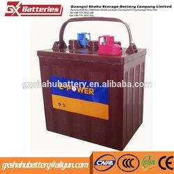 High quality acid lead golf car battery 8v 180ah Golf car battery