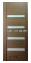 2014 Canada Design Interior Glazed Wood Door