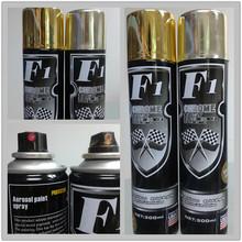 Chrome Golden silver chrome spray paint
