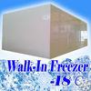 Walk in freezer for beef storage