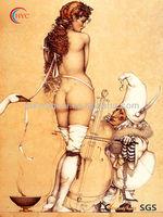 modern body girl art paintings