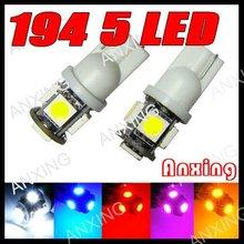 Factory automotive light t10 led 5050 auto tuning
