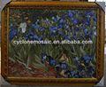 Mosaico de mármol azulejo de motivo