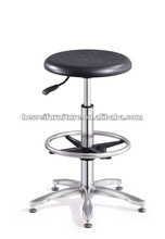 Ajustable esd chair with footrest