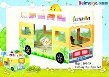 School Kids Bunk Bed /Fantasy Bus Bunk Bed 666-19