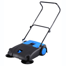 PP and ABS 12L MANUAL FLOOR SWEEPER made in yongkang