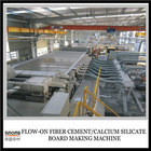 Flow-on 100% Non-asbestos Calcium Silicate/ Fiber Cement Board Machine Production Line Machine Line