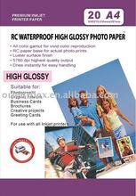inkjet photo paper RC Waterproof