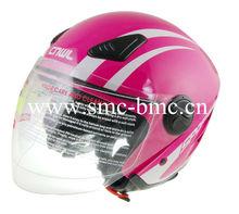 ECE Approved Half Face Motorbike Helmet