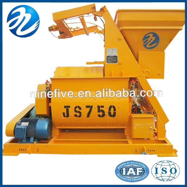 Strong Mixing Ability JS750 Concrete Mixer