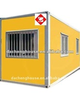 Galvanized steel 20ft insulated economic shipping container house