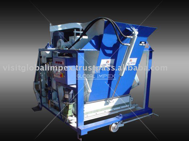 Concrete Block Machine With Mettal Filler