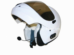 New Modern ABS Flip Up Full Face Helmet with Bluetooth