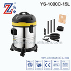 Professional Wet&Dry Vacuum Cleaner Stainless Steel 15L