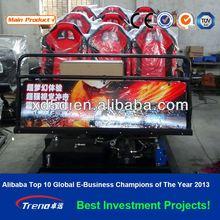Theme/amusement park equipment 5D movie cinema hot-sale products