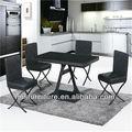De alta calidad de vidrio templado de muebles para el hogar t-153 mesa